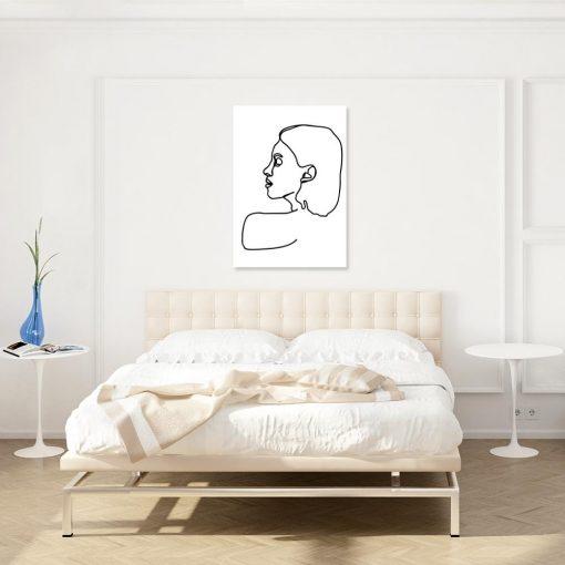 Obraz z motywem portretu kobiety