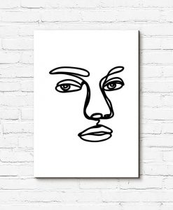 Obraz twarz