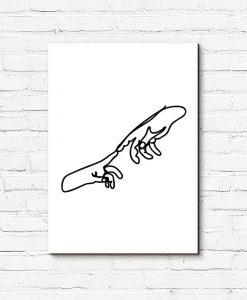 Obraz dwie dłonie