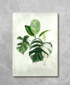 Obraz w tropikalnym stylu