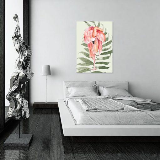 Obraz z motywem tropikalnym