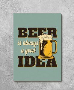 obraz piwo