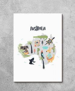 obraz kontynent australii