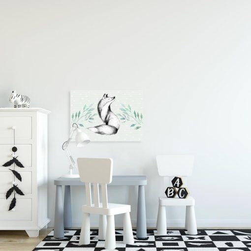 lis w pokoju dziecka