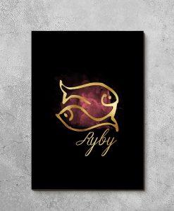 motyw ryb na obrazie
