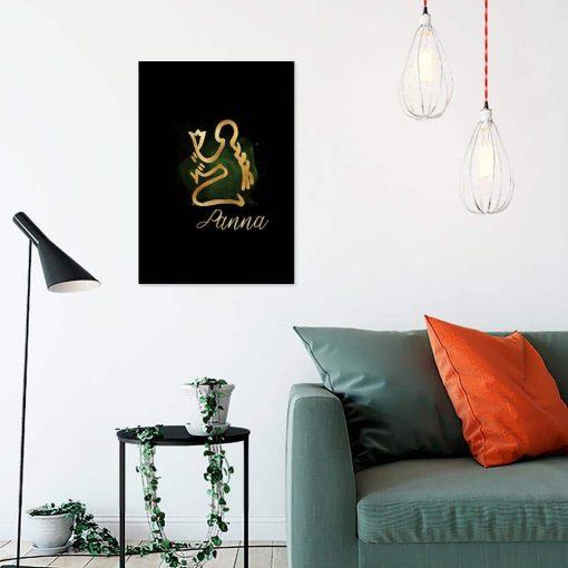 panna - obraz pionowy