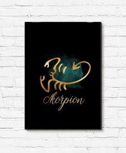 skorpion jako obraz