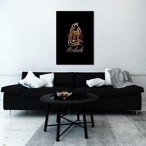 wodnik jako dekoracja do salonu