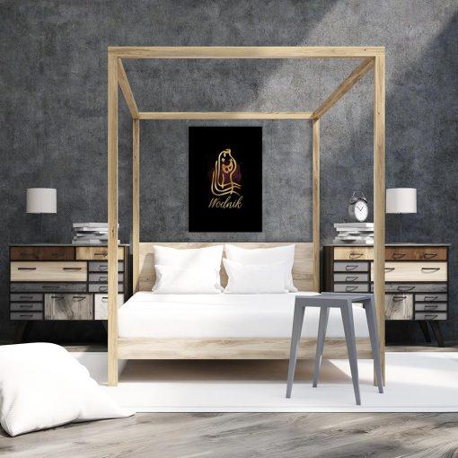 obraz do sypialni z wodnikiem