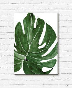 obraz zielony