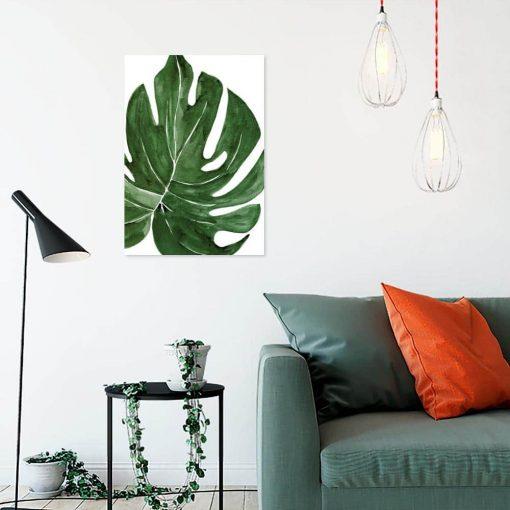 obraz liść