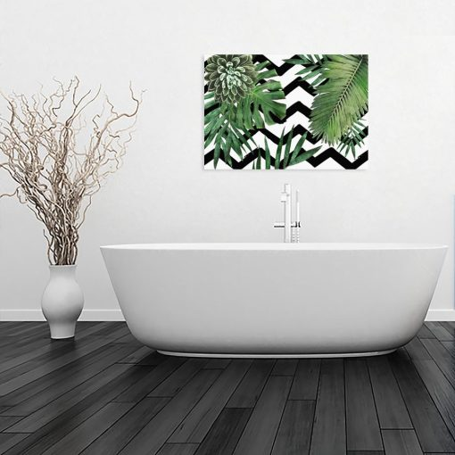 obraz wzory i liście