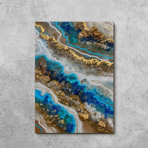 obraz abstrakcyjny jako dekoracja