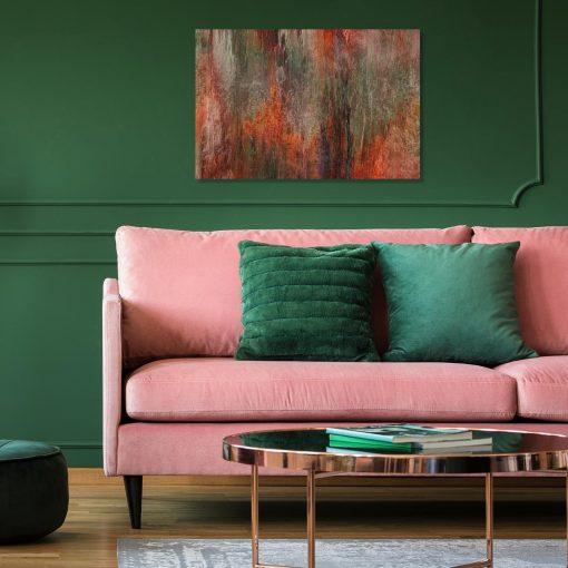obraz do salonu z motywem abstrakcyjnego wzoru