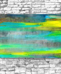 obraz z abstrakcyjnymi mazajami
