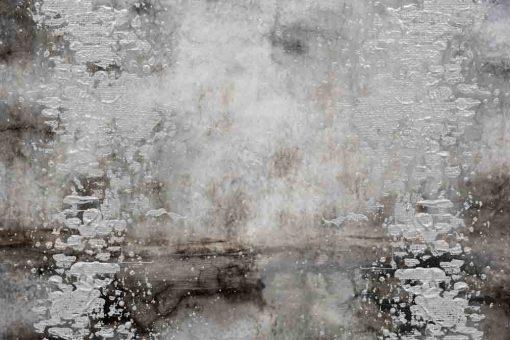 obraz z plamami farby na betonie