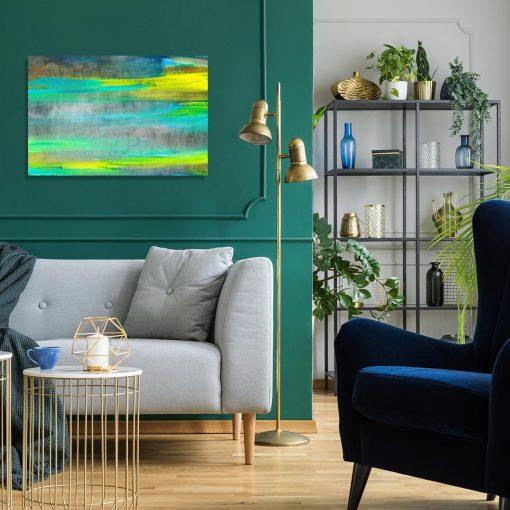 obraz do salonu jak malowany