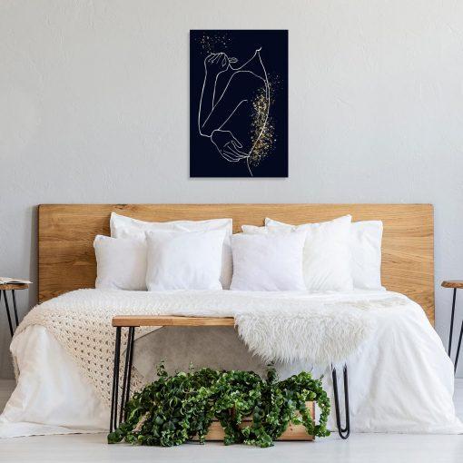 Obraz - Line Art do sypialni