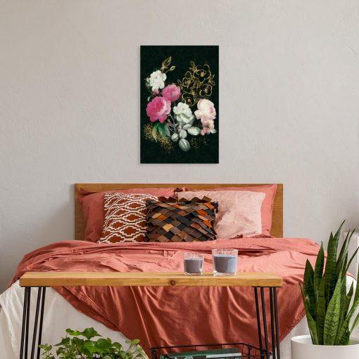 Obraz pęk kwiatów do sypialni