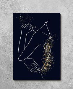 Obraz w stylu Line Art