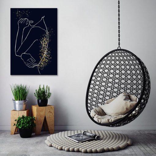 Obraz - Line Art do biura