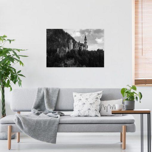 Obraz z zamkiem Neuschwanstein do sypialni