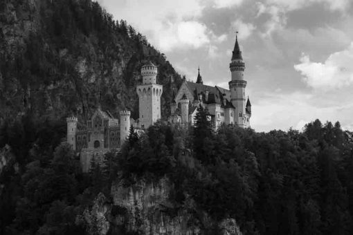 Obraz z zamkiem Neuschwanstein