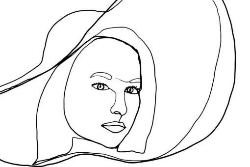 Obraz - Line art