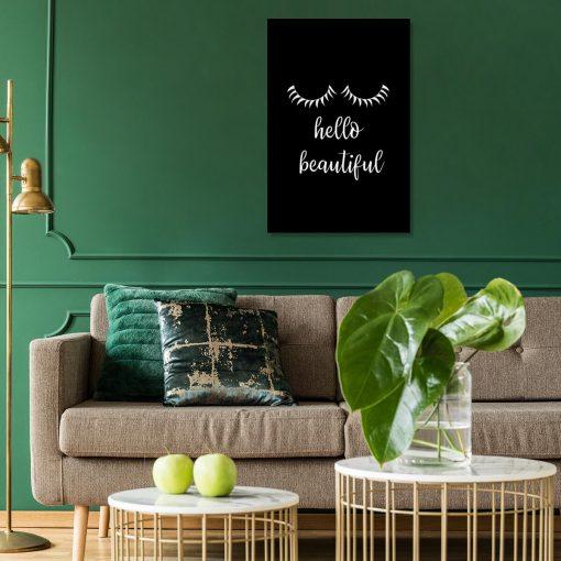 Obraz - Hello beautiful dla kobiety