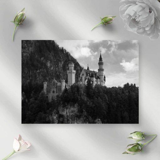 Obraz z zamkiem Neuschwanstein do salonu