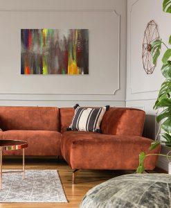 nowoczesne obrazy do dekorowania salonu