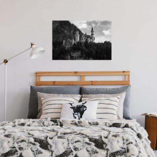Obraz z zamkiem Neuschwanstein na prezent