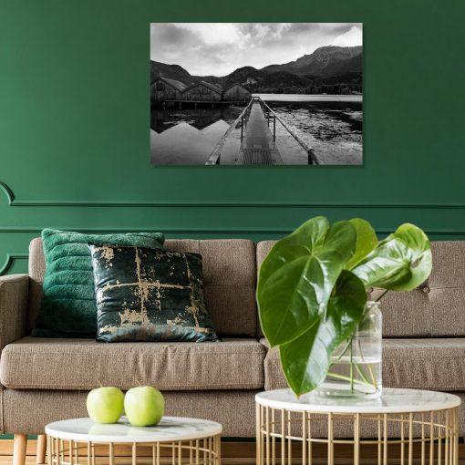 Obraz do salonu - Jezioro Kochelsee