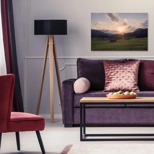 Obraz do salonu - Krajobraz łąki