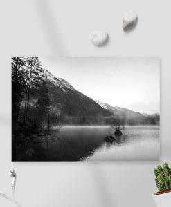 Obraz na prezent - Mgła nad Hintersee