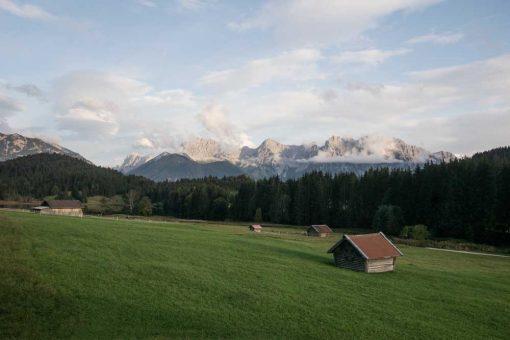 Obraz z krajobrazem - Geroldsee