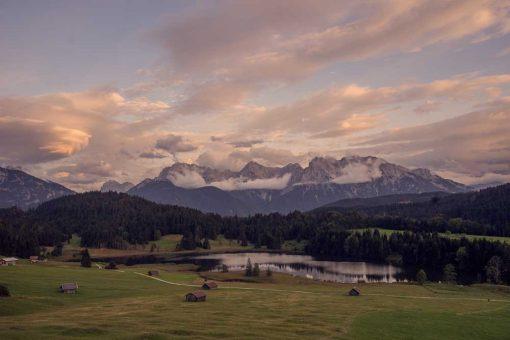 Obraz - Jezioro Geroldsee