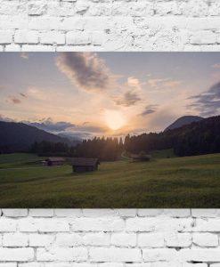 Obraz do biura podróży - Krajobraz łąki