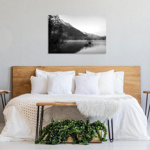 Obraz do sypialni - Mgła nad Hintersee
