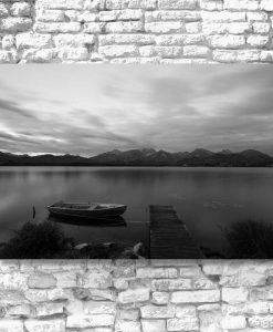 Obraz do salonu - Jezioro