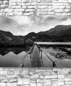 Obraz do przedpokoju - Jezioro Kochelsee