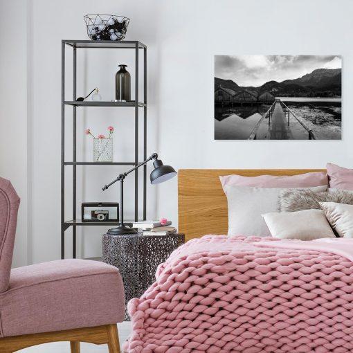 Obraz do sypialni - Jezioro Kochelsee