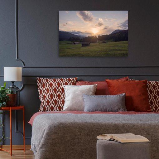 Obraz do pokoju - Krajobraz łąki