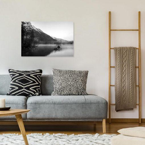 Obraz do salonu - Mgła nad Hintersee