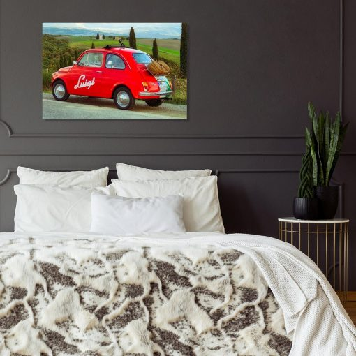 Obraz do pokoju - Czerwone auto