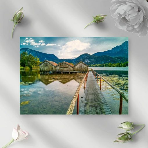 Obraz z jeziorem Kochelsee do pokoju