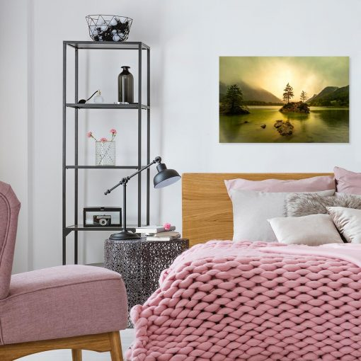 Obraz z jeziorem Untreusee do pokoju
