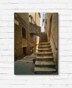 Obraz toskańskie uliczki