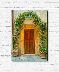 Obraz miasteczko w Toskanii