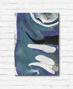 Obraz z abstrakcyjnymi malunkami